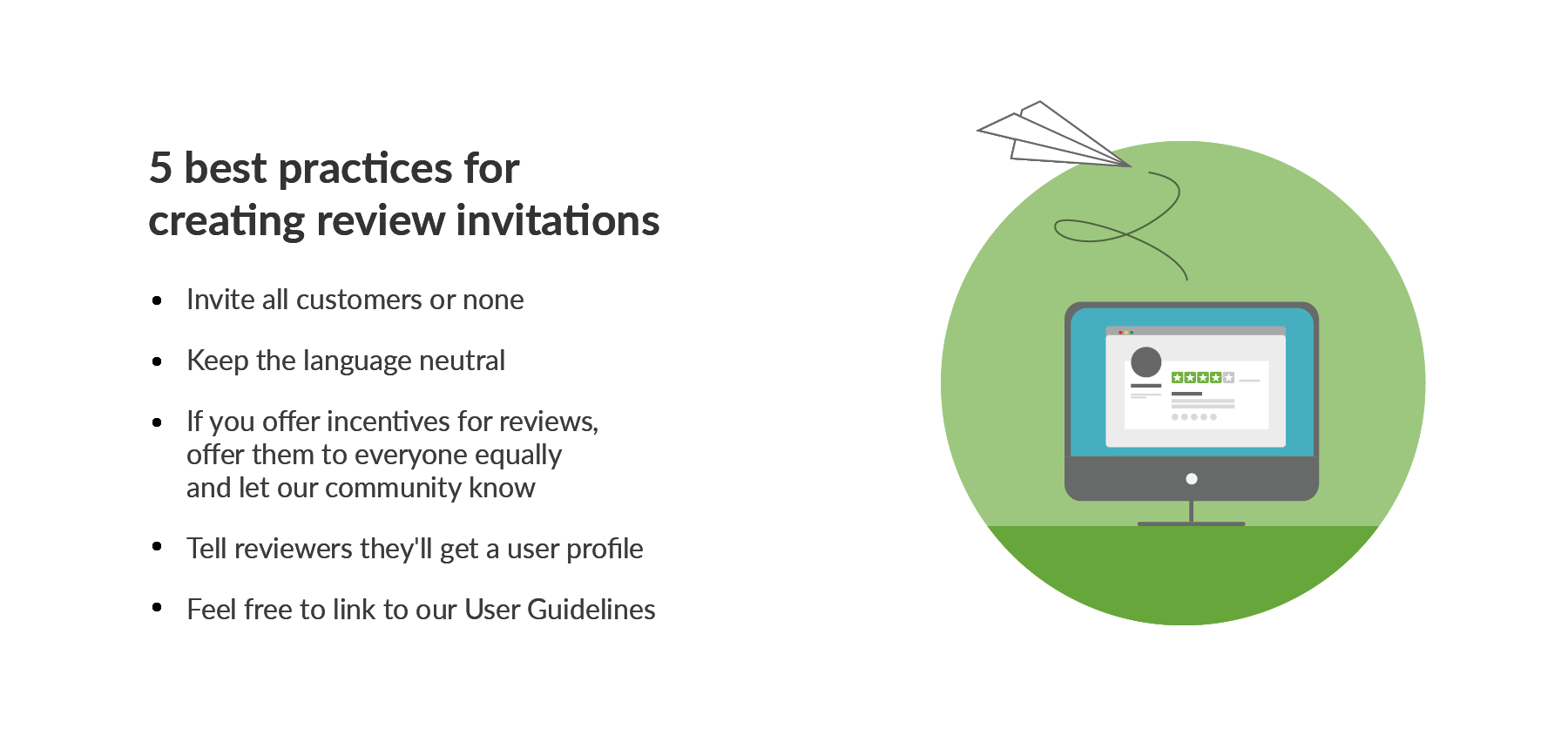 5 best practices for creating review invitations – Trustpilot