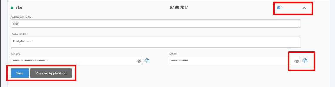 how to get trustpilot api key