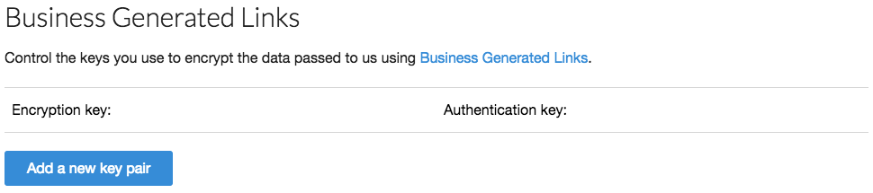 How-to guide: Business Generated Links (for developers