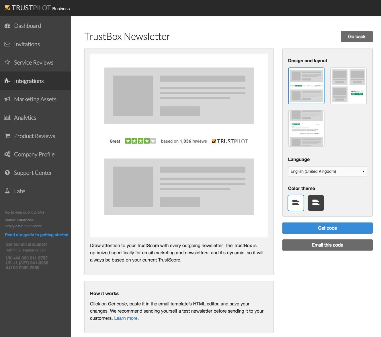 How to add the TrustBox Newsletter to your email campaigns ...