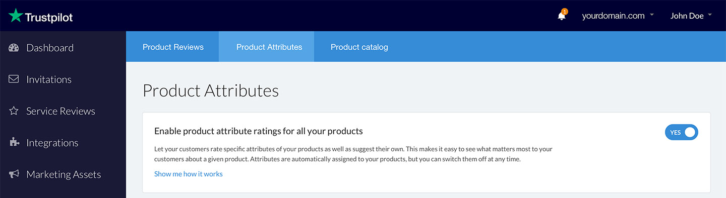 If Your Product Isn T Covered By The Categories With Specific Attributes Customers Will Be Asked To Provide Feedback Using General
