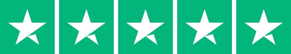 Pearlwax 5 Trustpilot stjerner