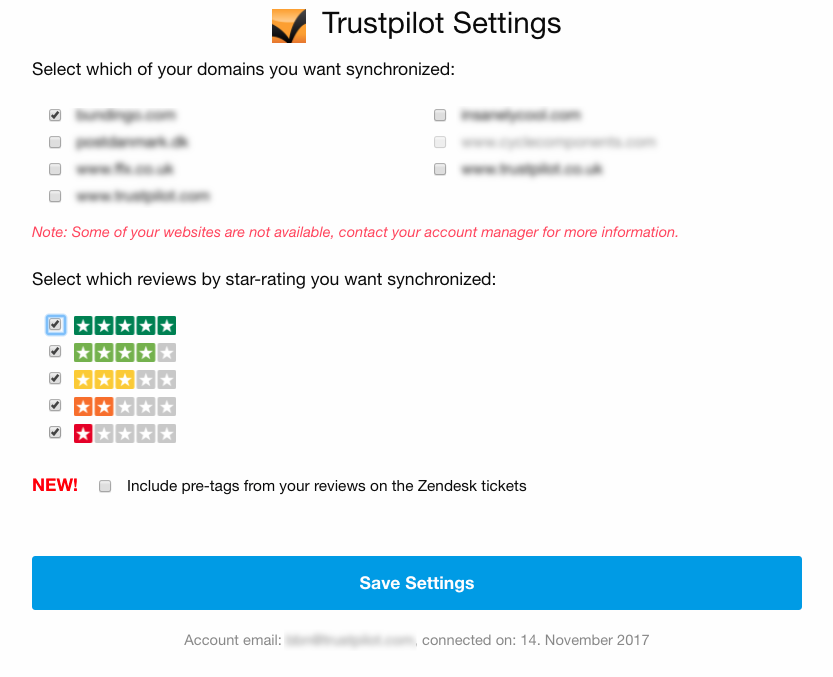 Zendesk-Trustpilot Integration – Trustpilot Support Center