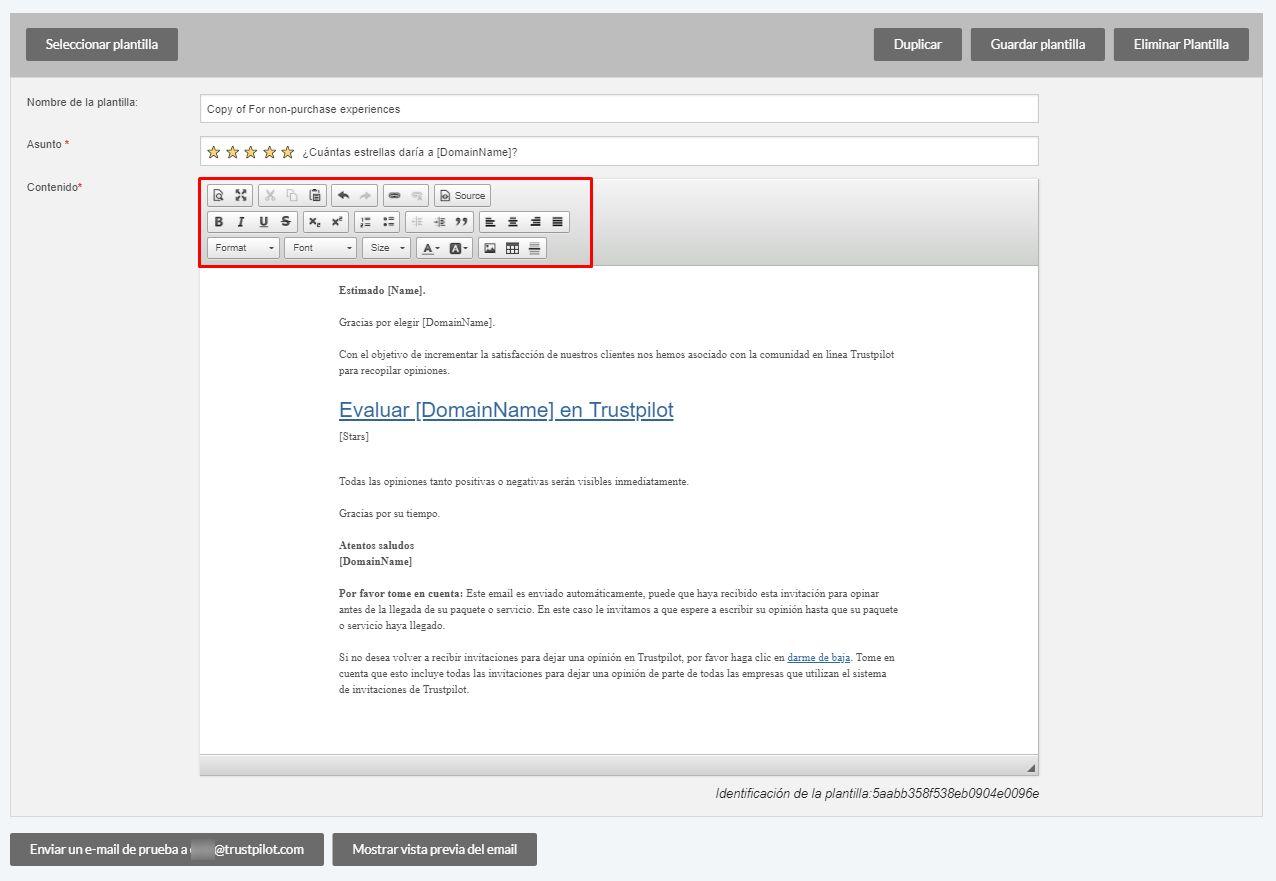 Cómo crear y personalizar sus invitaciones por email? – Trustpilot ...