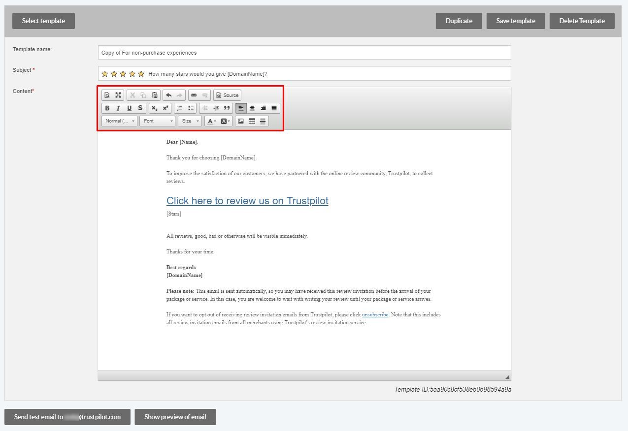 How To Create And Customize Your Review Invitation Email